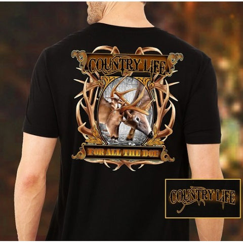 Country Life Outfitters For All The Doe Deer Unisex T-Shirt