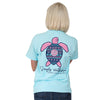 Simply Southern Preppy Ikat Pattern Save The Turtles Collection T-Shirt