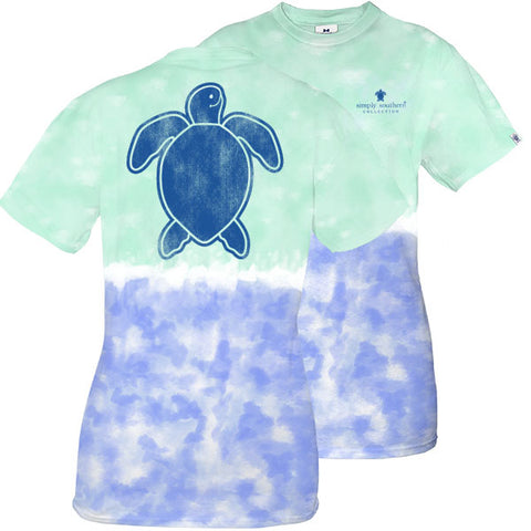 c6d3da01d Simply Southern Preppy Washed Logo Island Tie Dye Save The Turtles  Collection T-Shirt