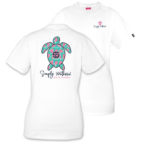 Simply Southern Preppy Watermelon Save The Turtles Collection T-Shirt