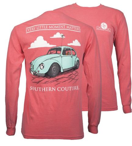 Southern Couture Every Little Moment Bug Comfort Colors Long Sleeve T-Shirt