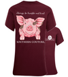 Southern Couture Humble & Kind Pig T-Shirt