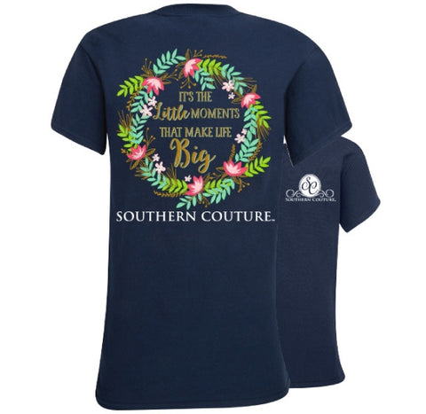 Southern Couture Preppy Little Moments T-Shirt - SimplyCuteTees