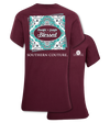 Southern Couture Preppy Thankful Grateful Blessed T-Shirt - SimplyCuteTees