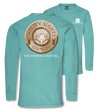 Southern Couture Sights On You Deer Comfort Colors Long Sleeve T-Shirt - SimplyCuteTees