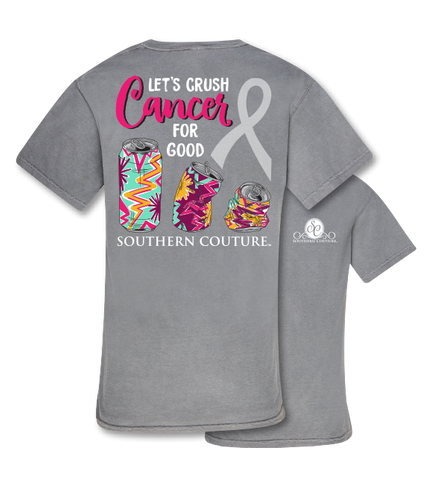 a27b0e7a7 Southern Couture Crush Cancer Comfort Colors T-Shirt