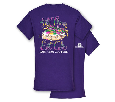 Southern Couture Preppy Let Them Eat Cake T-Shirt - SimplyCuteTees