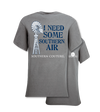 Southern Couture I Need Some Southern Air Front Print Girlie Bright T Shirt