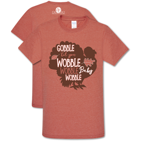 Southern Couture Preppy Gobble Wobble Fall Soft T-Shirt