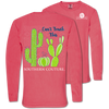 Southern Couture Can't Touch This Cactus Comfort Colors Long Sleeve T-Shirt