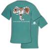 Southern Couture Painted Elephant Comfort Colors T-Shirt