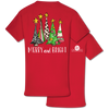 Southern Couture Preppy Merry & Bright Holiday T-Shirt