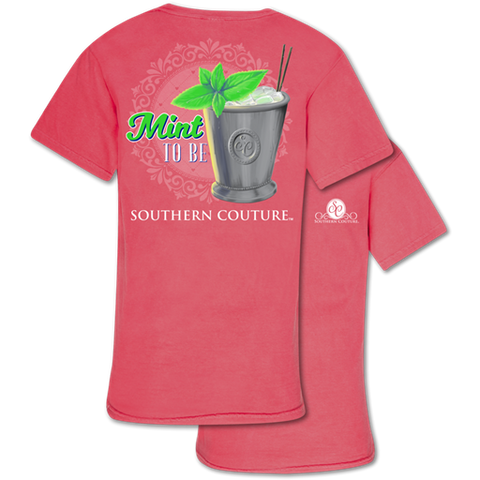 Southern Couture Comfort Mint To Be Comfort Colors T-Shirt