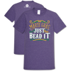 Southern Couture Soft Collection Mardi Gras Just Bead It T-Shirt