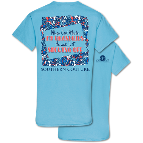 Southern Couture Classic God Made Grandkids T-Shirt