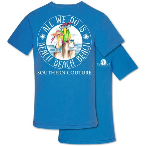Southern Couture Comfort Beach Beach Beach Comfort Colors T-Shirt