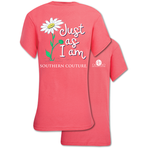 Southern Couture Classic Just As I Am T-Shirt