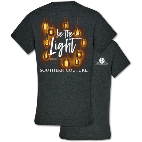 Southern Couture Classic Be the Light Faith T-Shirt