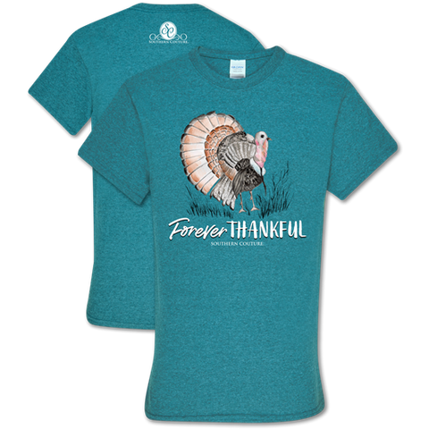 Southern Couture Soft Collection Forever Thankful Fall T-Shirt