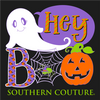 Southern Couture Classic Boo Halloween Fall Long Sleeve T-Shirt