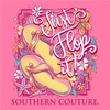 Southern Couture Classic Collection Just Flop It T-Shirt