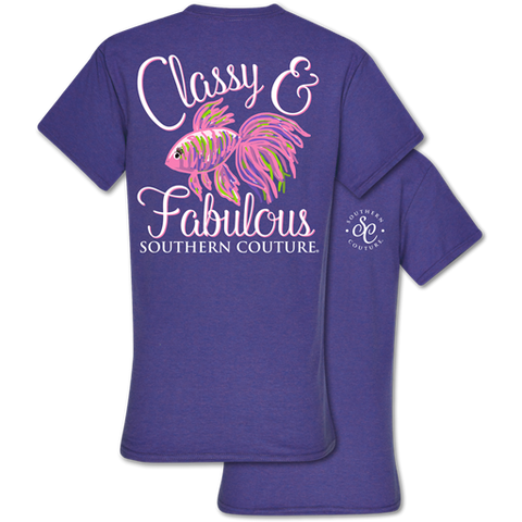 Southern Couture Classic Collection Classy & Fabulous T-Shirt