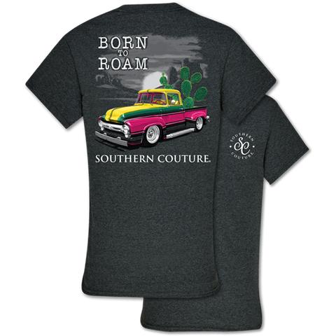 Southern Couture Classic Collection Born To Roam Truck T-Shirt
