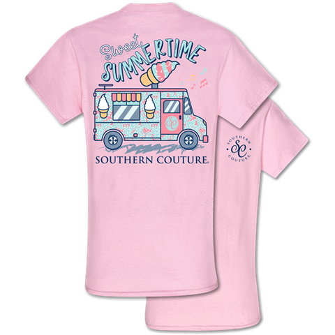 Southern Couture Classic Collection Sweet Summertime Ice Cream T-Shirt