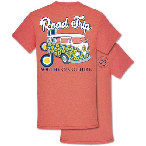 Southern Couture Classic Collection Road Trip Bus T-Shirt