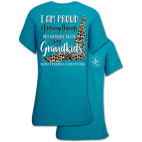 Southern Couture Classic Collection Proud of Many Things Grandkids T-Shirt