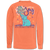 Southern Couture Spread Joy Elephant Comfort Colors Long Sleeve T-Shirt