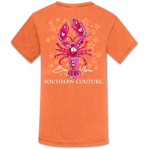 Southern Couture Be You Crawfish Comfort Colors T-Shirt
