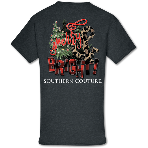Southern Couture Classic Merry & Bright Holiday T-Shirt
