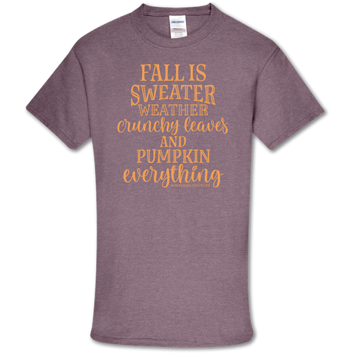 Southern Couture Soft Collection Fall Sweater Weather T-Shirt