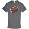 Southern Couture Soft Collection Game Day Football Lips T-Shirt