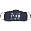 Southern Couture Preppy Have Faith Protective Mask