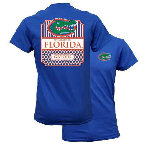 Southern Couture Florida Gators Preppy Frame Logo T-Shirt
