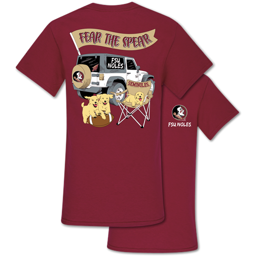 Southern Couture Classic Florida State Jeep T-Shirt