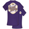 Southern Couture Classic Louisiana LSU Tigers Seersucker  T-Shirt
