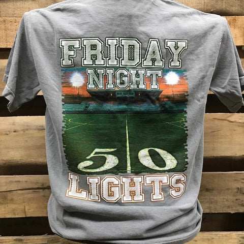Backwoods Born & Raised Friday Night Lights Football Bright Unisex T Shirt - SimplyCuteTees