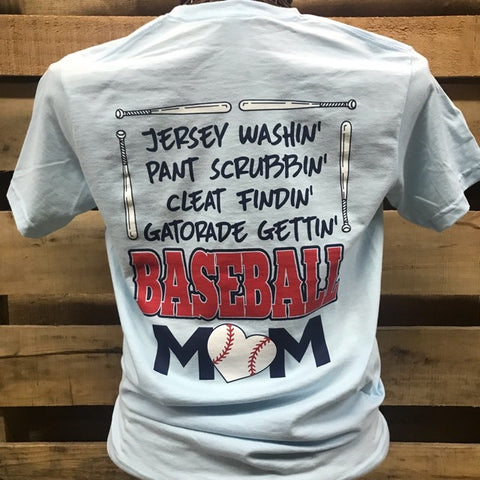 Southern Chics Jersey Washin Baseball Mom Pants Scrubbin Cleat Findin Hammer T Shirt