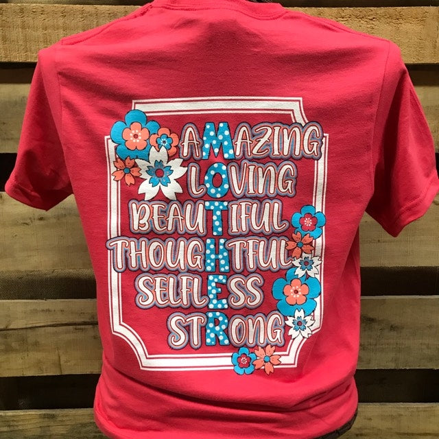 8dca58955 Southern Chics Mother Amazing Loving Beautiful Thoughtful Selfless Str    SimplyCuteTees