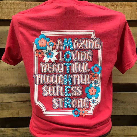 Southern Chics Mother Amazing Loving Beautiful Thoughtful Selfless Strong Mom Hammer T Shirt