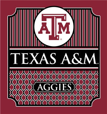 Southern Couture University of Texas A&M Aggies Classic Preppy Girlie Bright T Shirt - SimplyCuteTees