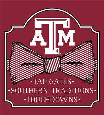 Southern Couture University of Texas A&M Aggies Preppy Bow Girlie Bright T Shirt - SimplyCuteTees