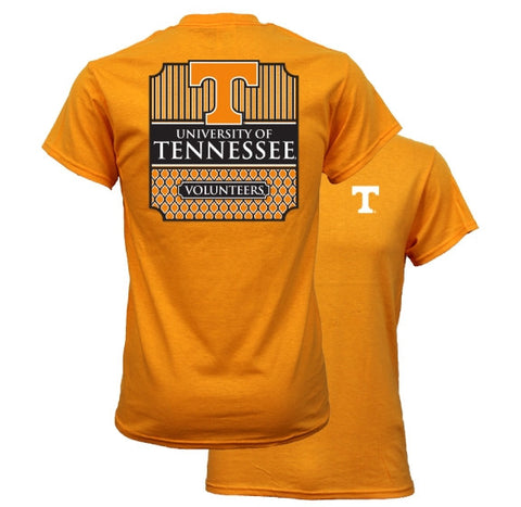 Southern Couture University of Tennessee Volunteers Vols Classic Preppy Girlie Bright T Shirt - SimplyCuteTees