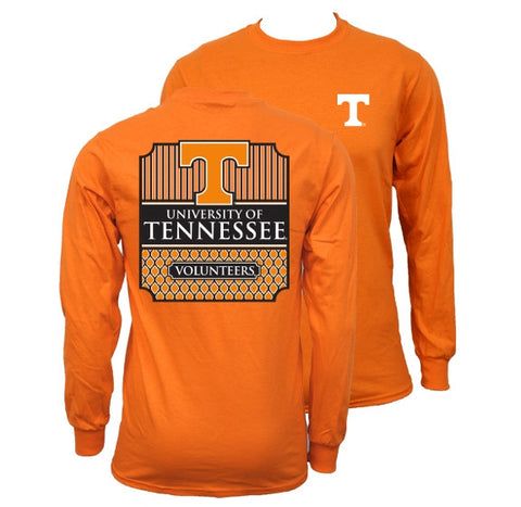 Southern Couture Tennessee Volunteers Vols Classic Long Sleeve T-Shirt - SimplyCuteTees
