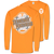 Southern Couture Classic Tennessee Vols Seersucker Long Sleeve T-Shirt