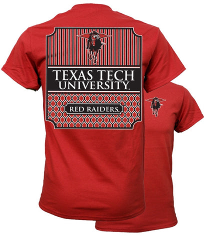 Couture Texas Tech Red Raiders Preppy Logo T-Shirt