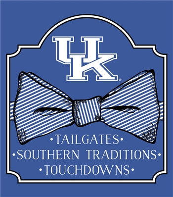 Southern Couture University of Kentucky Wildcats Preppy Bow Girlie Bright T Shirt